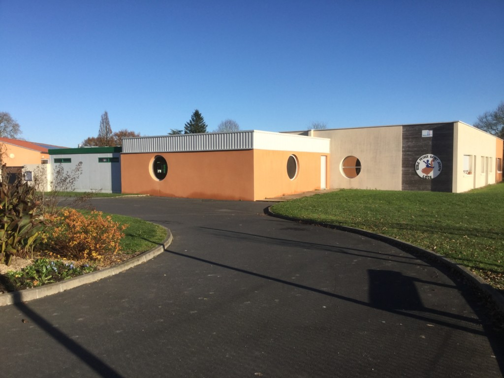 façade de l'école